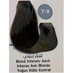 Maxx Deluxe 100 ml Saç Boyası Yoğun Küllü Kumral 7.11