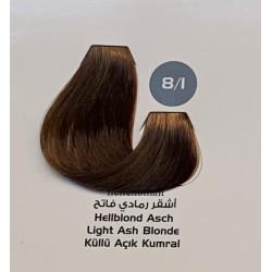 Maxx Deluxe 100 ml Saç Boyası Küllü Açık Kumral 8.1