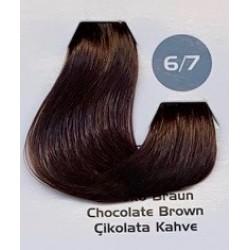 Maxx Deluxe 100 ml Saç Boyası Çikolata Kahve 6.7