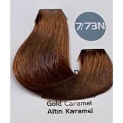 Maxx Deluxe 100 ml Saç Boyası Altın Karemel 7.73N