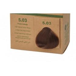 BioMagic Organik Saç Boyası Fındık Kabuğu (5.03)