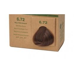 BioMagic Organik Saç Boyası Koyu Küllü Kumral (6.72)