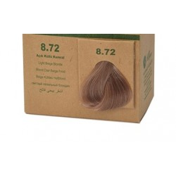 BioMagic Organik Saç Boyası Açık Küllü Kumral (8.72)