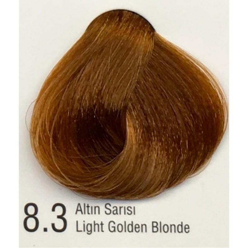 Color Inn Professional Saç Boyası 60 Ml Altın Sarısı 83