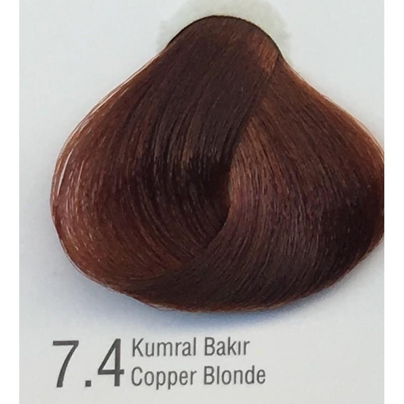 Color Inn Professional Saç Boyası 60 Ml Sıcak çikolata 57