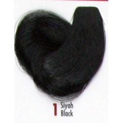 Daniela Saç Boyası 60ML Siyah ( 1 )