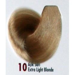 Daniela Saç Boyası 60ML Açık Sarı ( 10 )