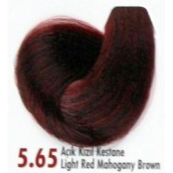 Daniela Saç Boyası 60ML Açık Kızıl Kestane ( 5.65 )