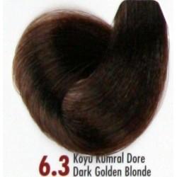Daniela Saç Boyası 60ML Koyu Kumral Dore ( 6.3 )