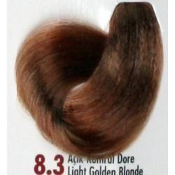 Daniela Saç Boyası 60ML Açık Kumral Dore ( 8.3 )