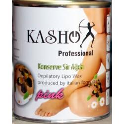 Kasho Konserve Ağda Pink 800gr