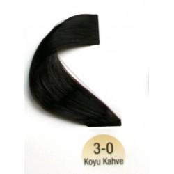 Vital Saç Boyası 60ML Koyu Kahve ( 3-0 )