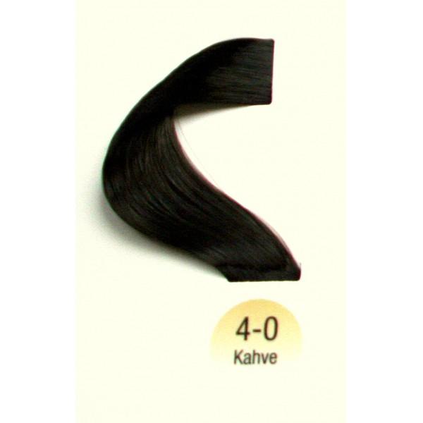 Vital Colors Saç Boyası 60ML Kahve ( 4-0 )
