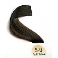 Vital  Saç Boyası 60ML Açık Kahve ( 5-0 )