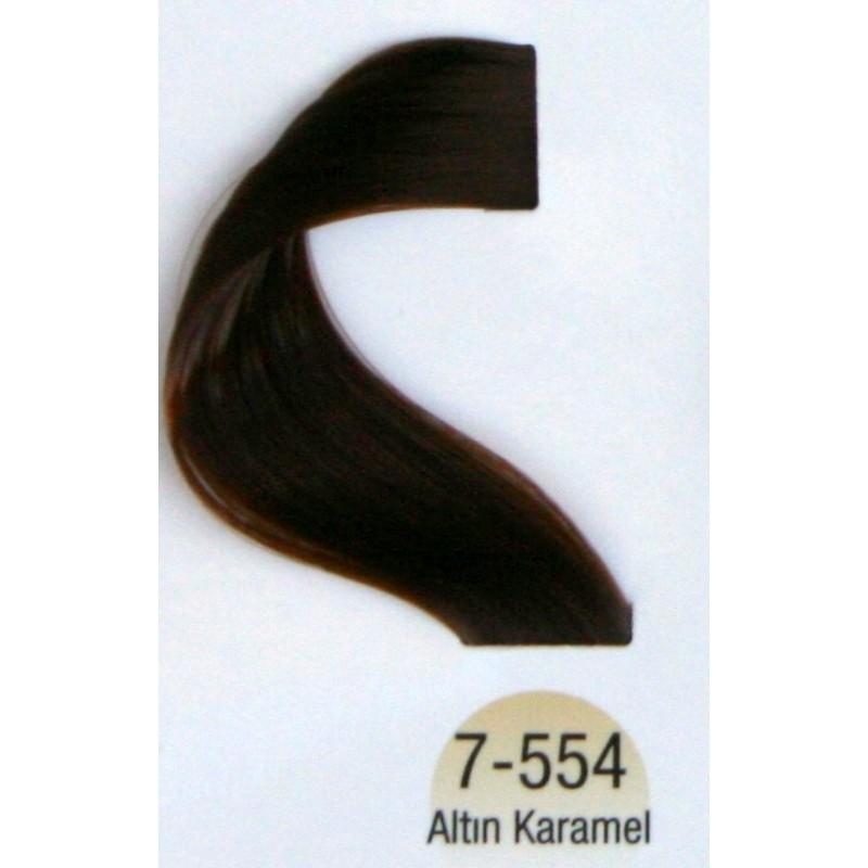 Vital Colors Saç Boyası 60ml Altın Karamel 7 554