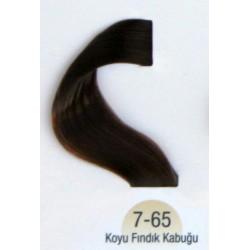 Vital  Saç Boyası 60ML Koyu Fındık Kabuğu ( 7-65 )