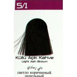 Lilafix Saç Boyası 60ML Küllü Açık Kahve ( 5-1 )