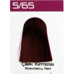 Lilafix Saç Boyası 60ML Çilek Kırmızısı ( 5-65)