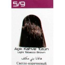 Lilafix Saç Boyası 60ML Açık Kahve Tütün ( 5-9 )