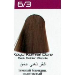 Lilafix Saç Boyası 60ML Koyu Kumral Dore ( 6-3 )