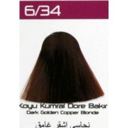 Lilafix Saç Boyası 60ML Koyu Kumral Dore Bakır ( 6-34 )