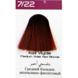Lilafix Saç Boyası 60ML Kızıl Viyole ( 7-22 )