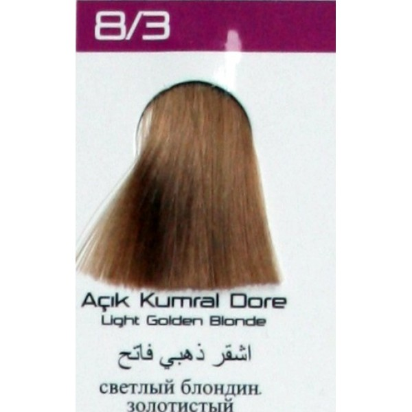 Lilafix Saç Boyası 60ML Açık Kumral Dore ( 8-3 )