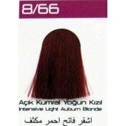Lilafix Saç Boyası 60ML Açık Kumral Yoğun Kızıl ( 8-66 )
