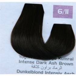 Lilafix Saç Boyası 60ML Yoğun Küllü Koyu Kumral (6-11)
